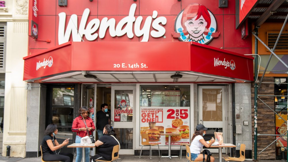 A generic Wendy's outlet