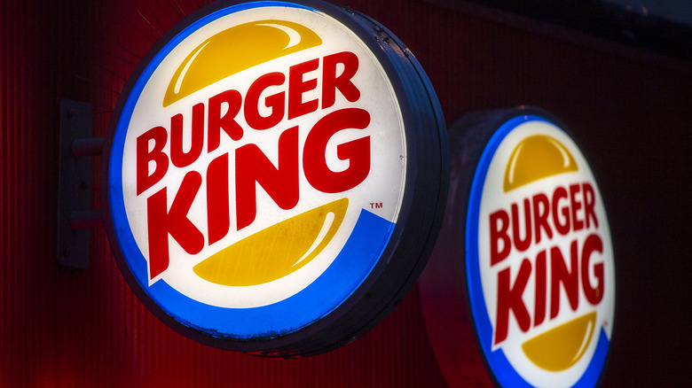 Burger King UK sign