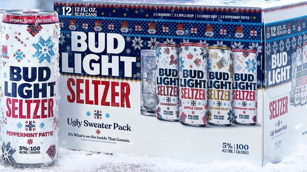 Bud Light Ugly Sweater Seltzer