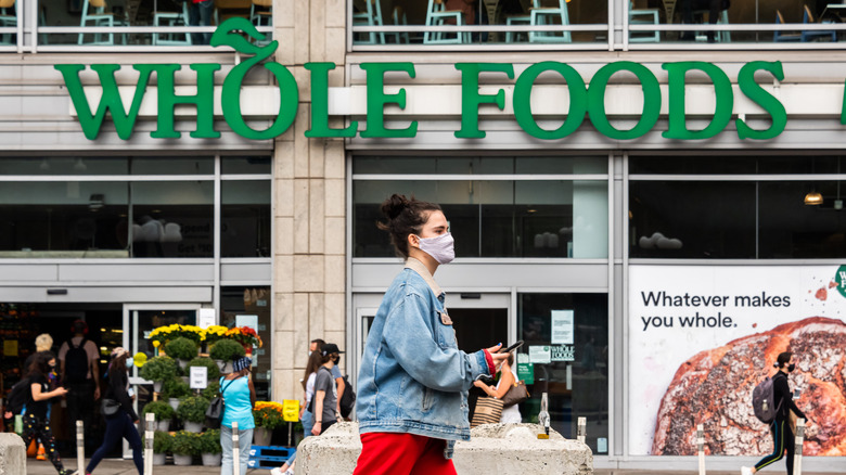 Exterior of a Whole Foods location