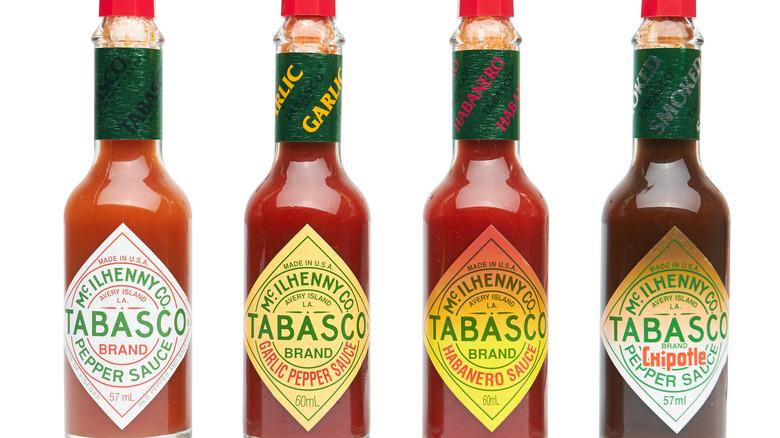 Tabasco sauces
