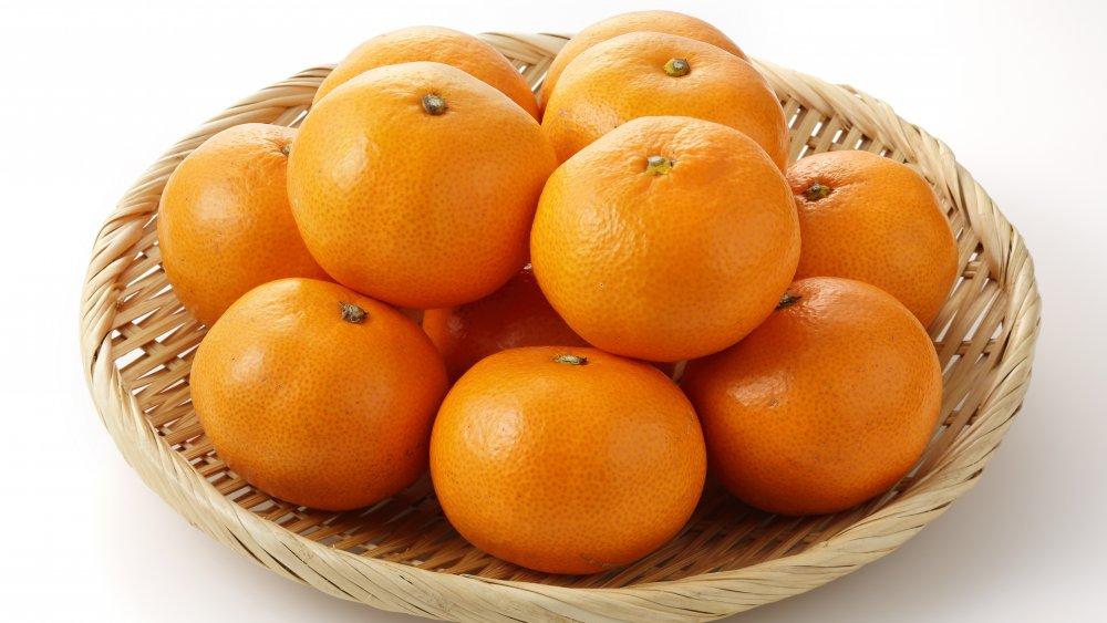 Japanese mandarin oranges mikan