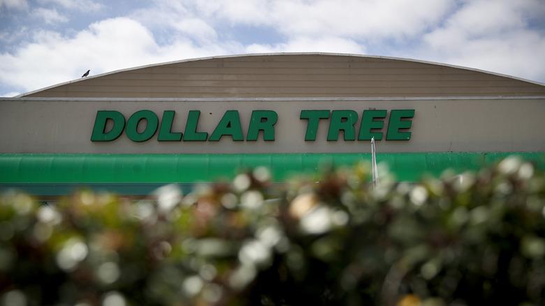 Dollar Tree exterior sign