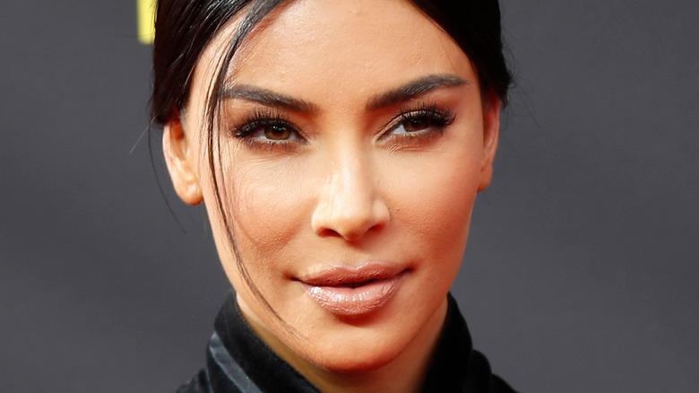 Close-up of Kim Kardashian