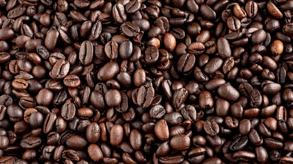 A generic photo of coffee beans