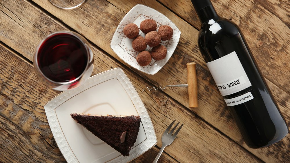 wine with dessert