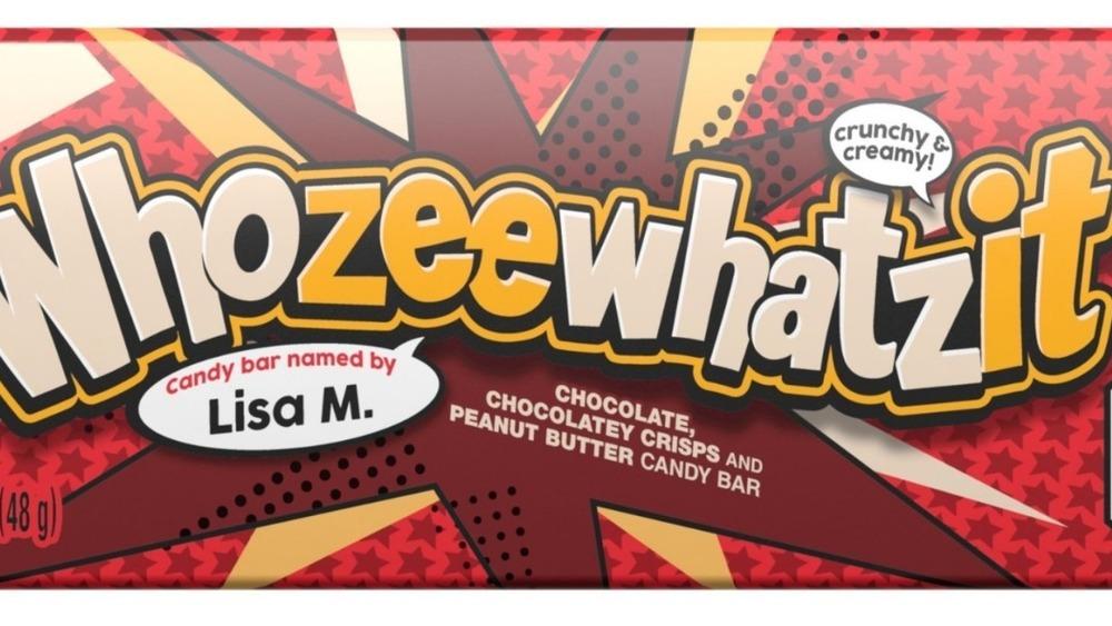 Hershey's Whozeewhatzit bar