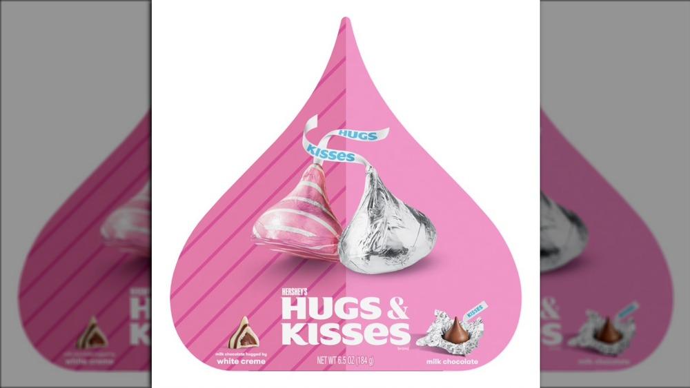 Hershey's Hugs & Kisses Heart Box