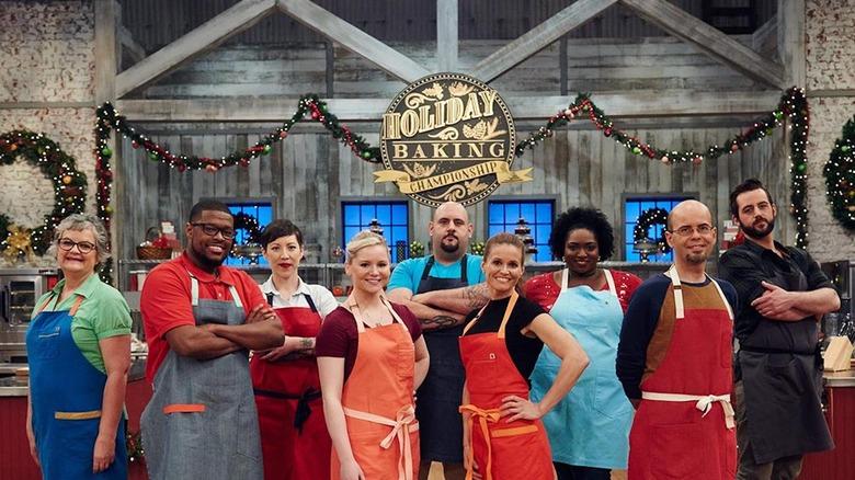 Holiday Baking Championship cast