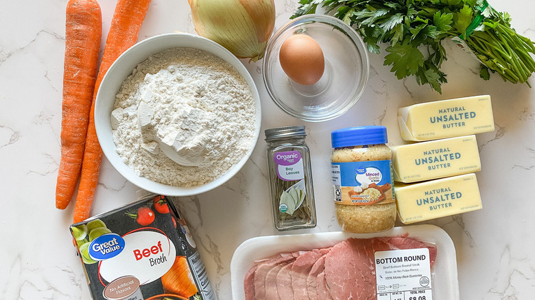 beef pot pie ingredients