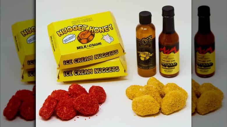 Hot Ones Ice Cream Nuggets