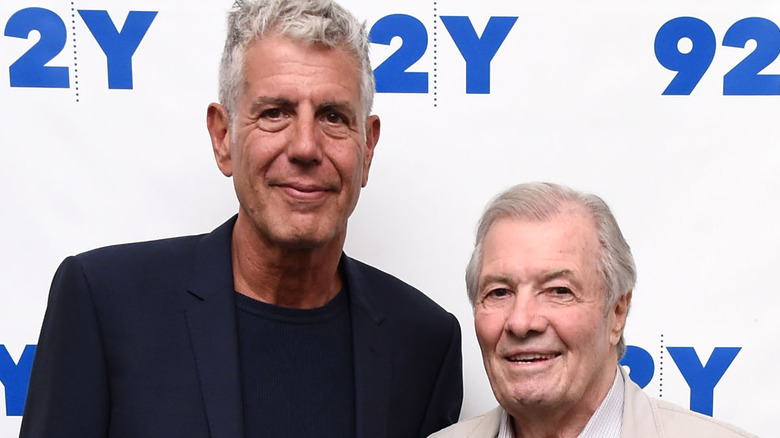 Anthony Bourdain and Jacques Pépin