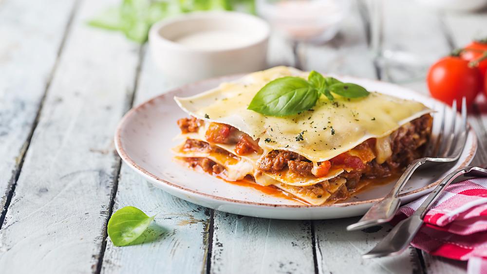 Thin lasagna
