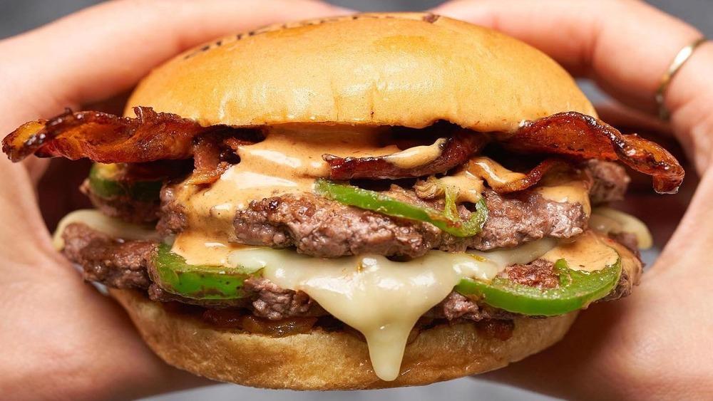 BurgerFi SWAG burger