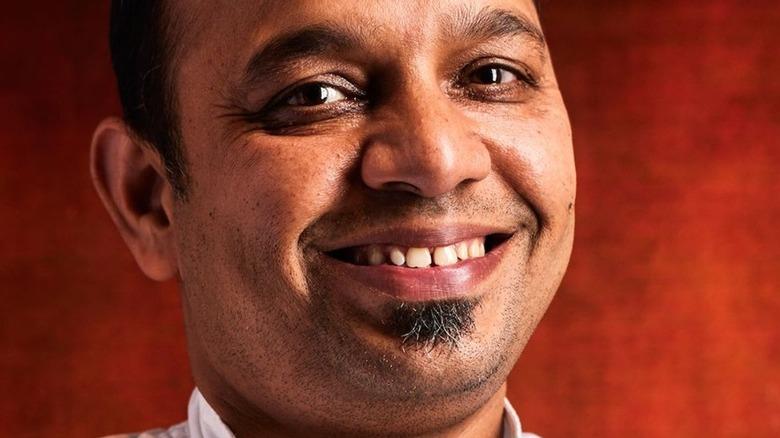 Chef Manish Tyagi smiling
