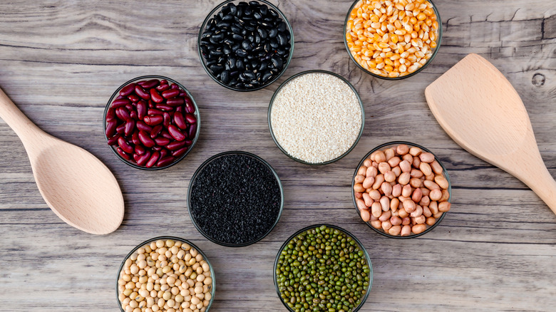 beans and grains