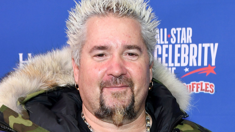 Guy Fieri smiling at event