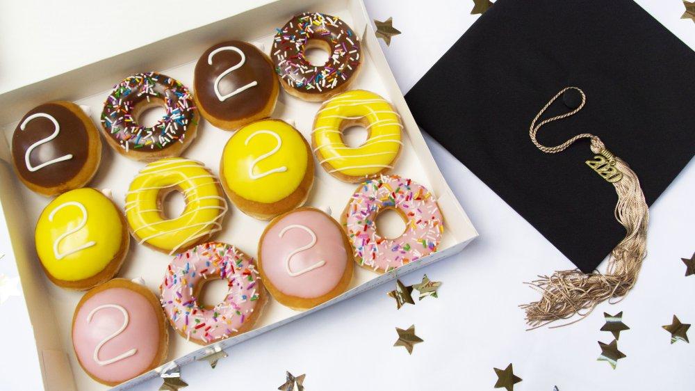 Krispy Kreme graduation promotion
