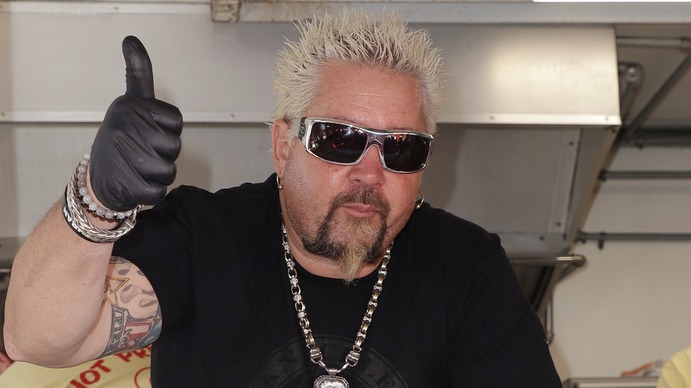 Guy Fieri giving thumbs up