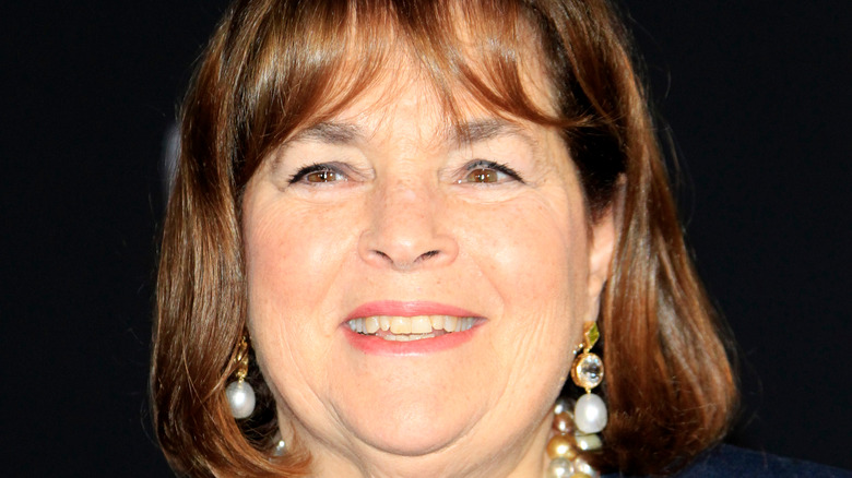 Ina Garten smiling and posing at an event