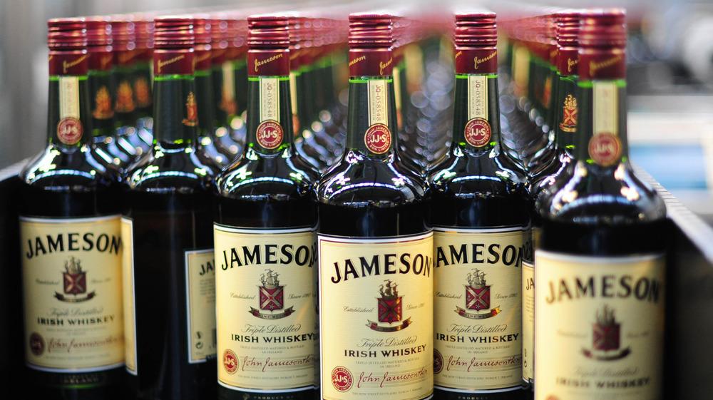 Bottles of Jameson