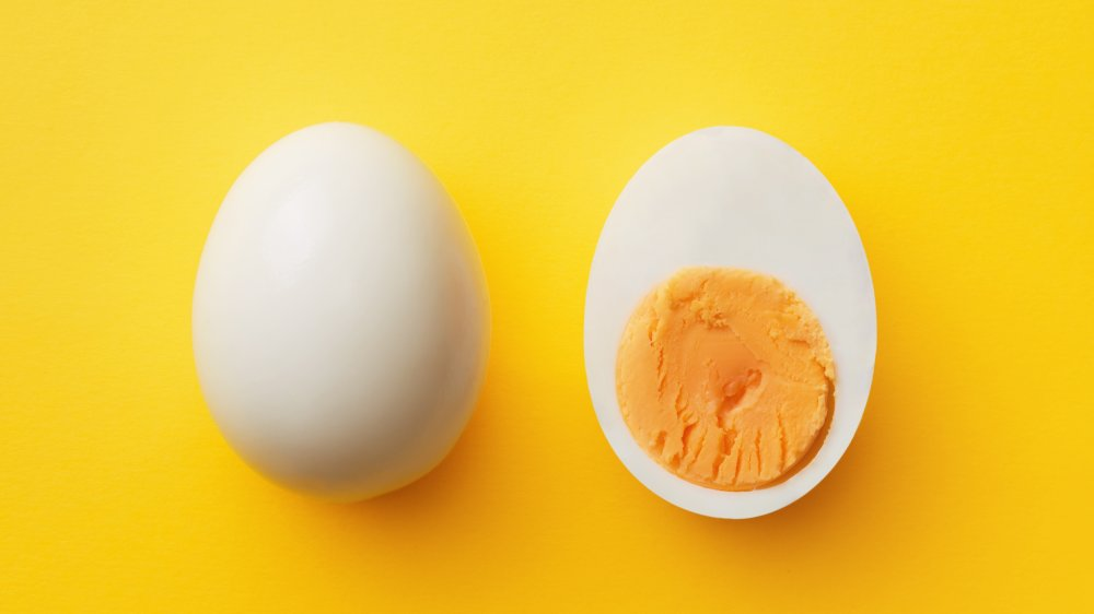 Hard-boiled egg