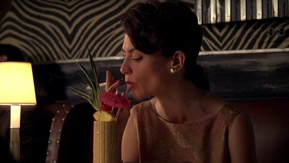 Rachel Menken with cocktail