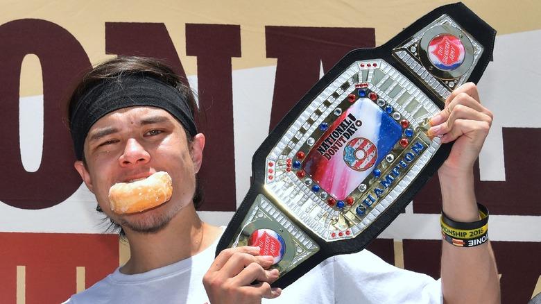 Matt Stonie donut competition