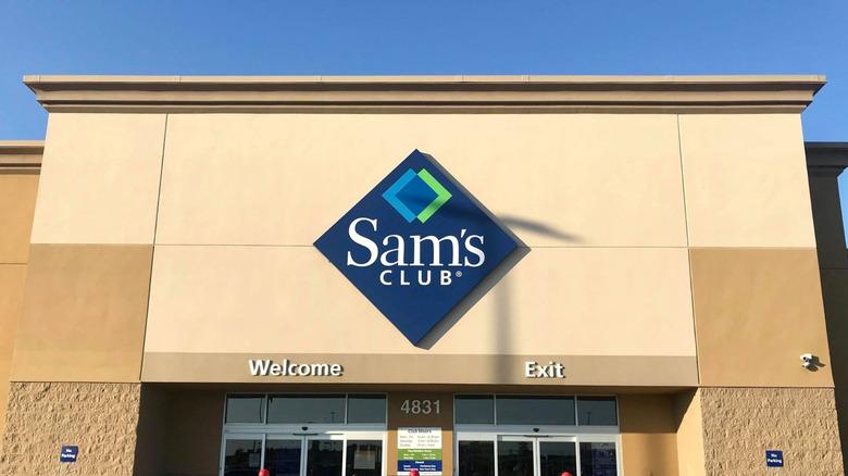 A Sam's Club store