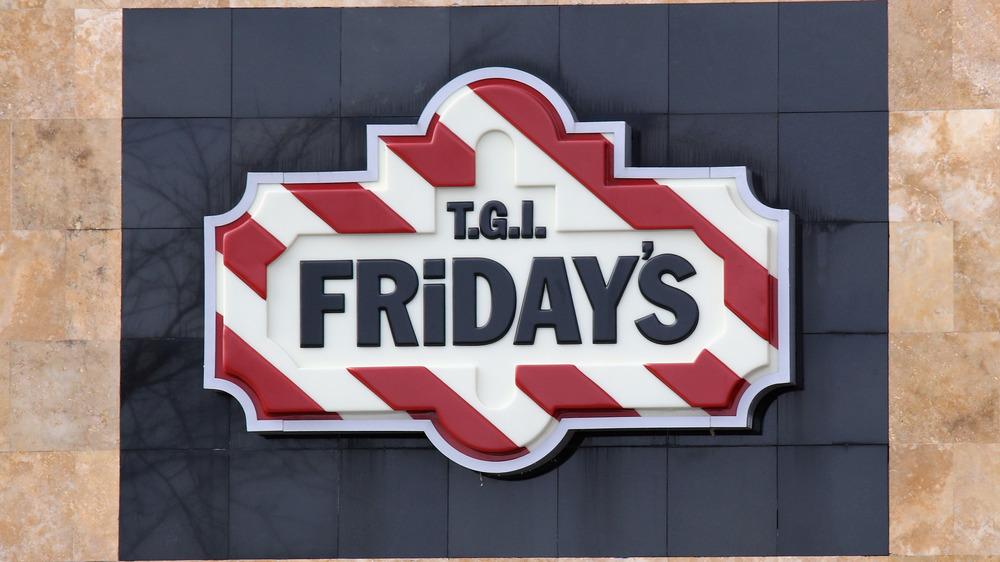 TGI Fridays sign