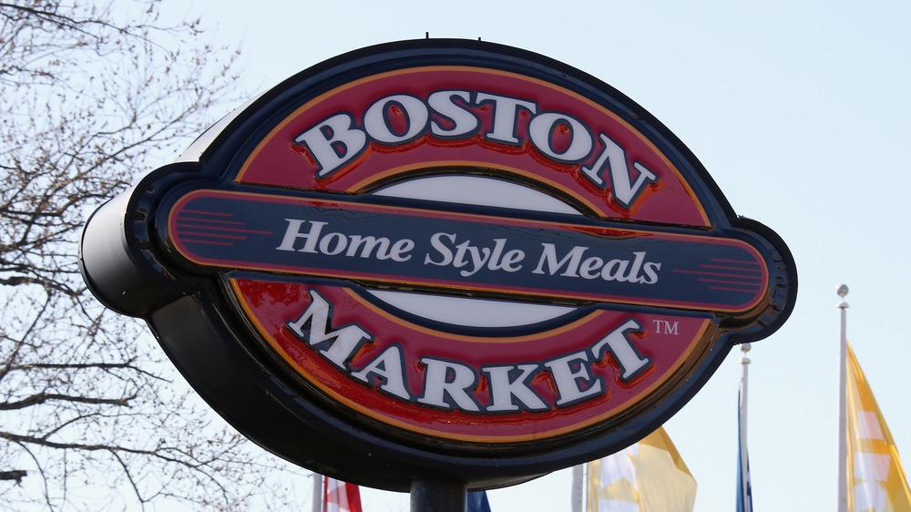Boston Market sign