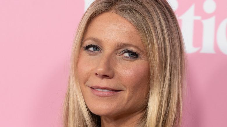 Closeup of Gwyneth Paltrow
