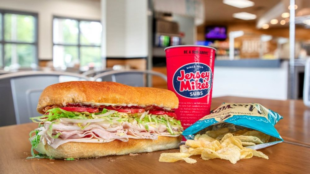 Jersey Mike's meal