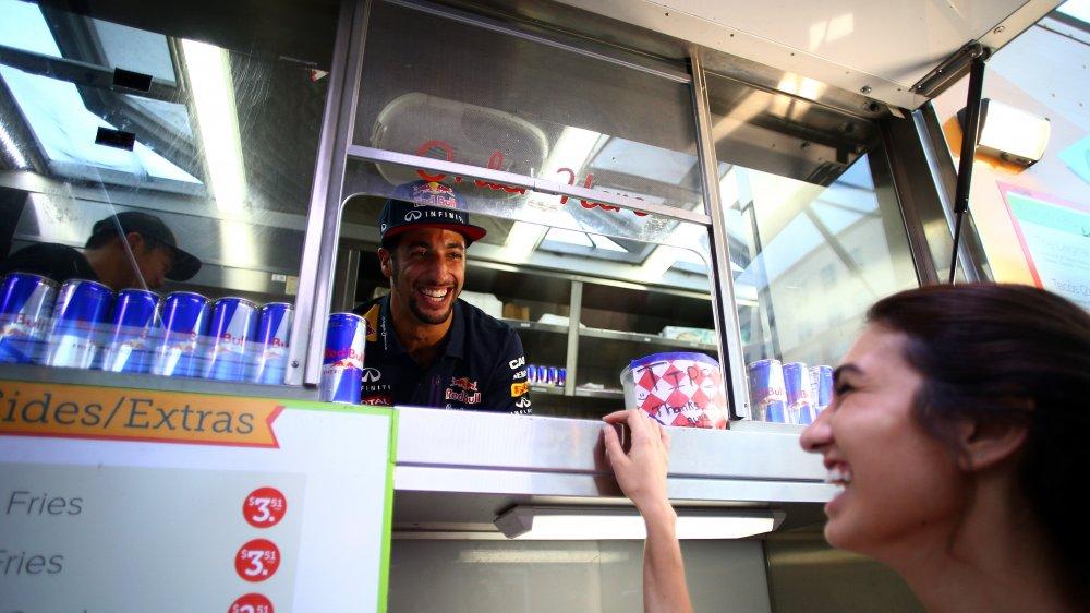food truck customer