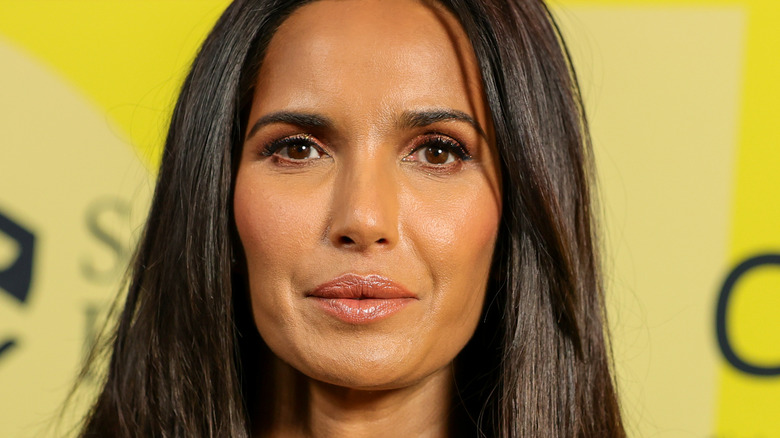 Close-up of Padma Lakshmi