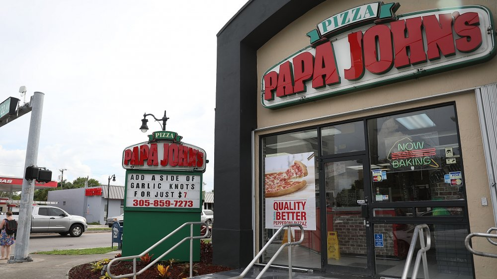 Papa John's restaurant
