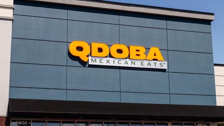 Qdoba Mexican Eats outlet