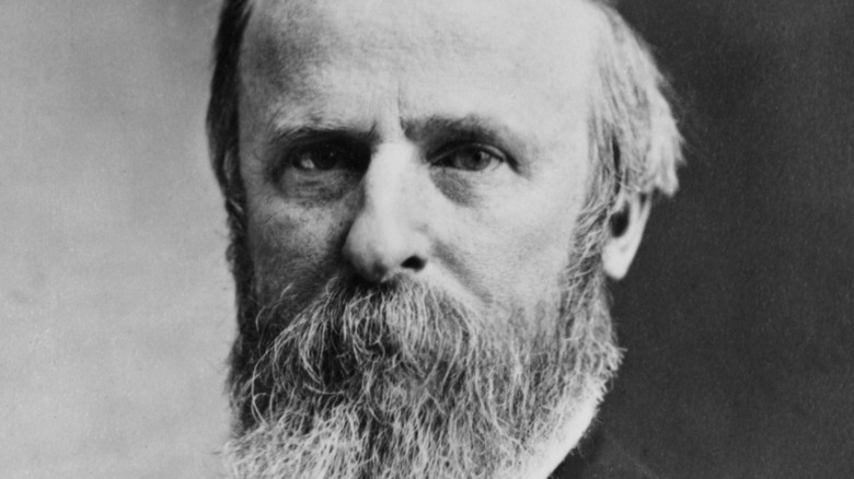 Rutherford B. Hayes with beard