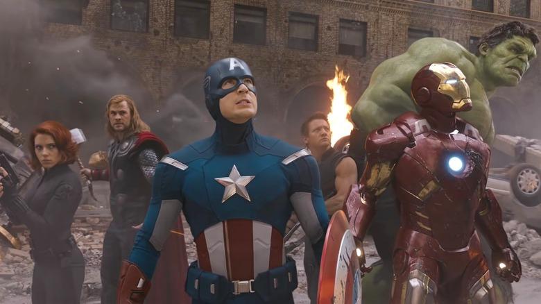 The Avengers assumbling
