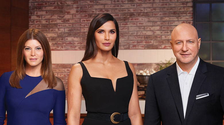 Top Chef judges in suits and dresses