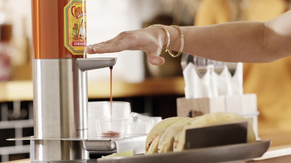 New Cholula sauce bottles