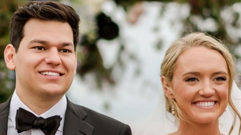 Alex Drummond and Mauricio Scott at wedding