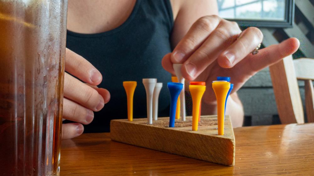 Cracker Barrel peg game
