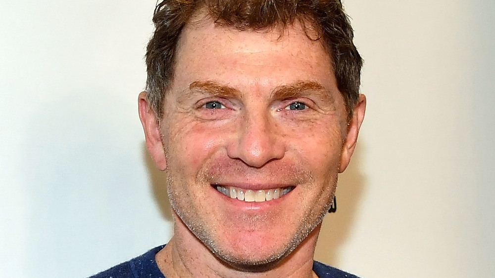 Celebrity chef Bobby Flay close-up