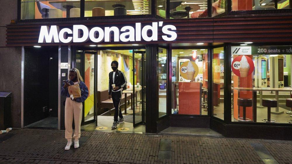 McDonald's store front