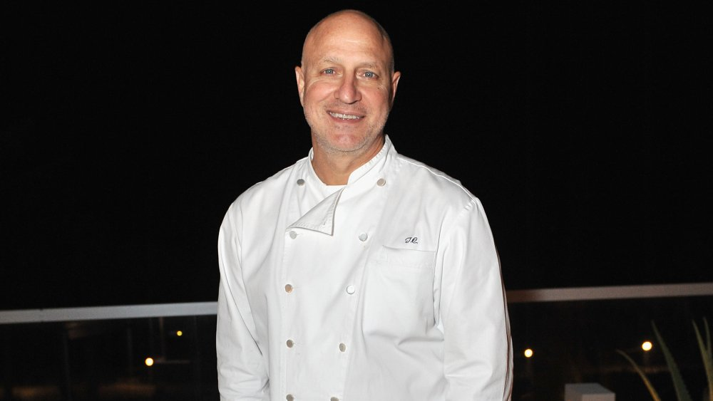 Top Chef star Tom Colicchio in his chef coat