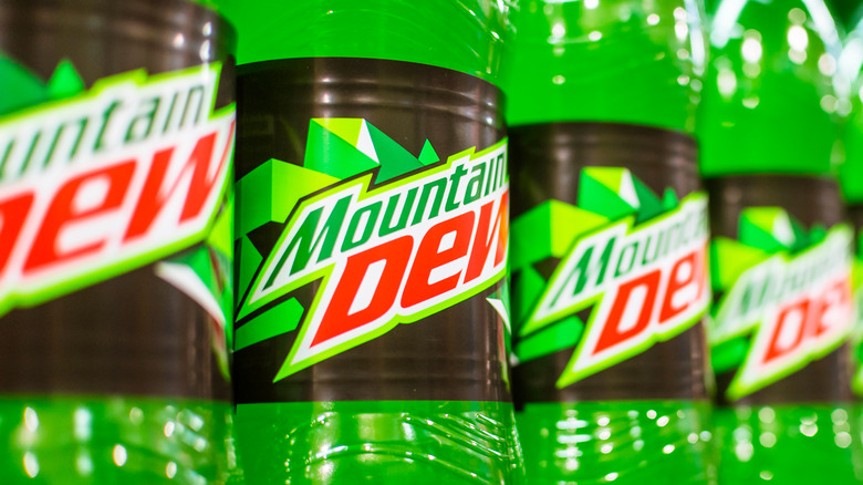 Mountain Dew in store