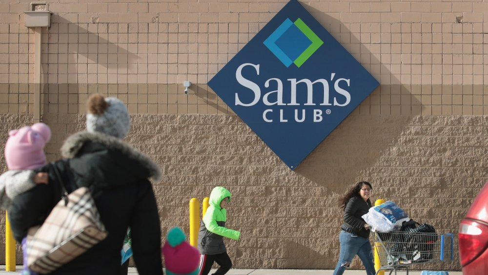 Shoppers at Sam's Club