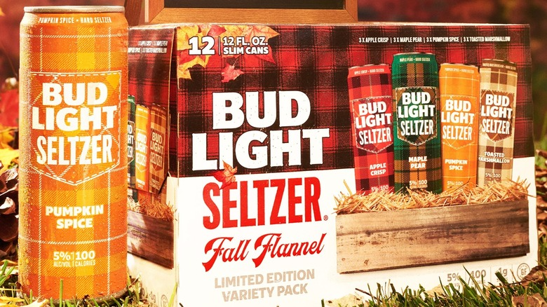 Bud Light Fall Flannel box