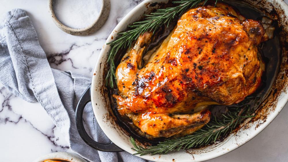 Ina Garten's roast chicken with a twist